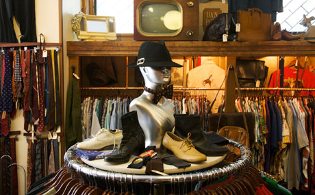 vintage clothing shops