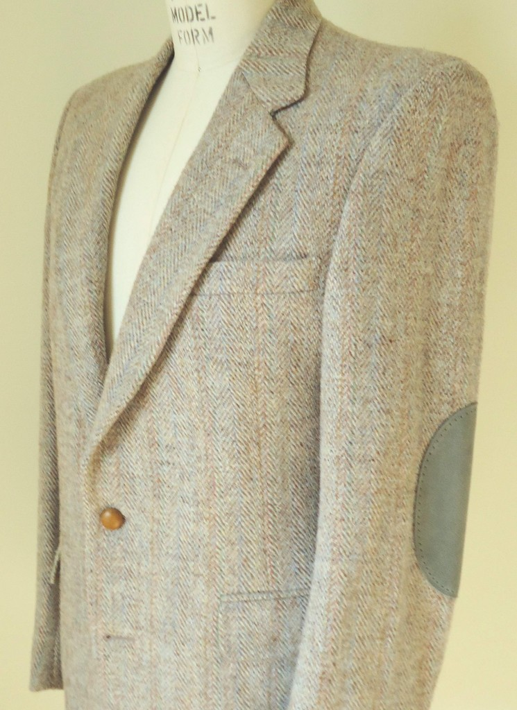 colorful tweed jackets