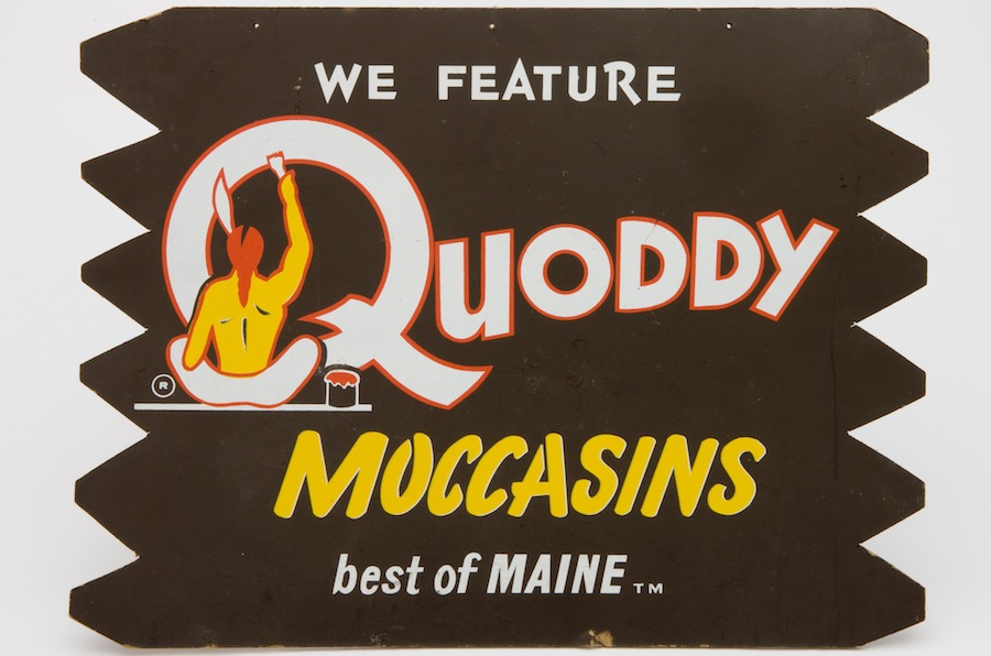 Quoddy native sign