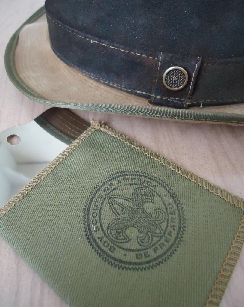 vintage Boy Scout gear