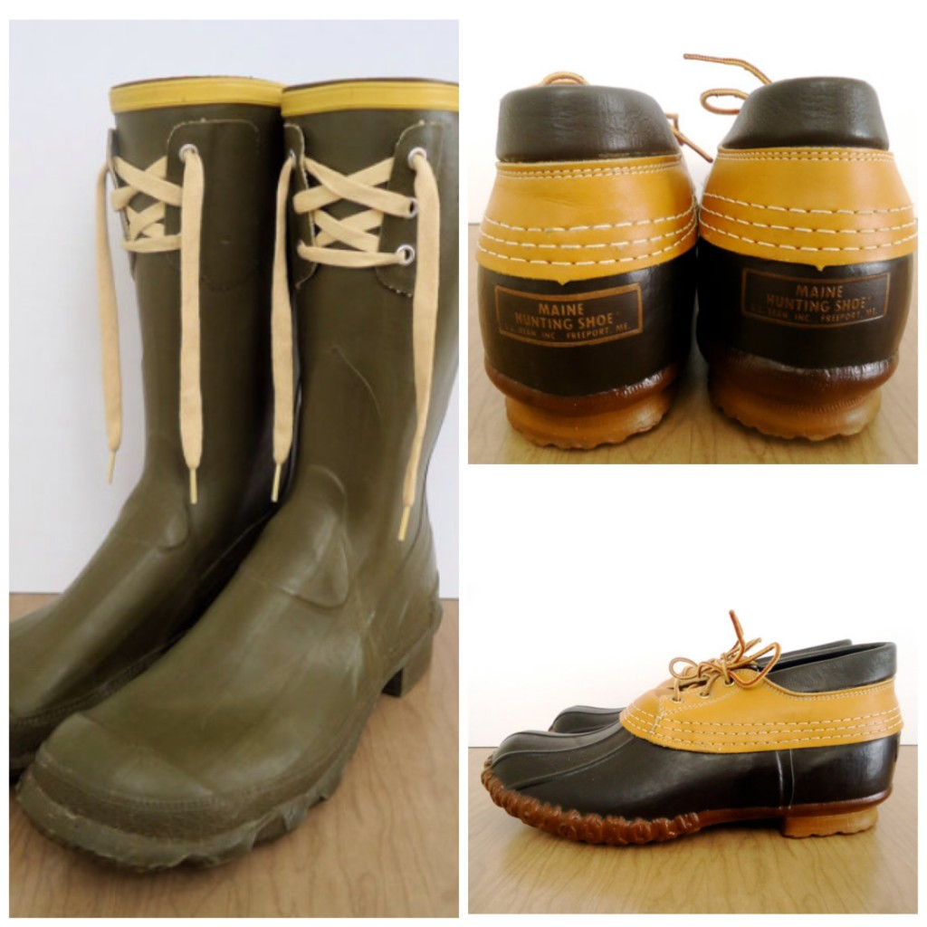vintage hunting boots